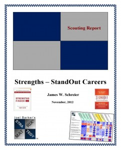Pages from Strategy Matrix Stand Out Report Cover
